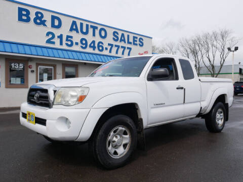 2008 Toyota Tacoma for sale at B & D Auto Sales Inc. in Fairless Hills PA