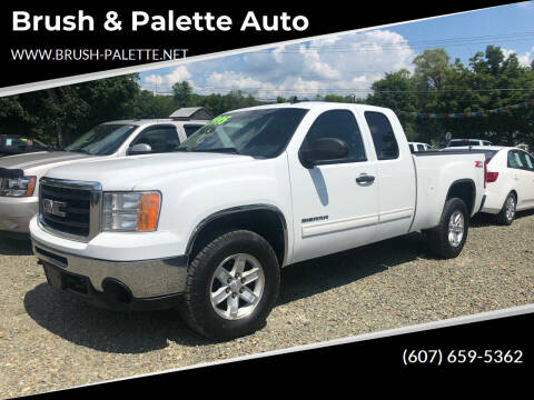 2011 GMC Sierra 1500 for sale at Brush & Palette Auto in Candor NY