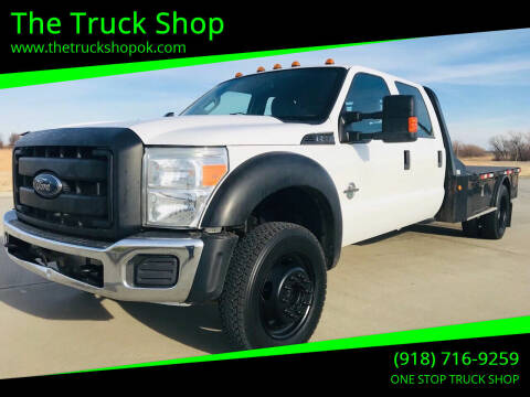 2014 Ford F-550 Super Duty for sale at The Truck Shop in Okemah OK