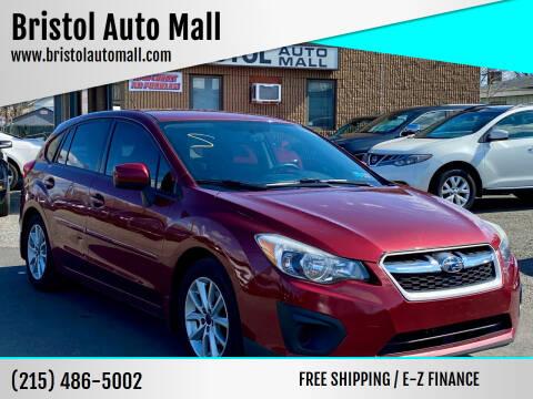 2014 Subaru Impreza for sale at Bristol Auto Mall in Levittown PA