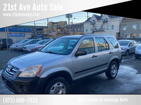 2006 Honda CR-V for sale at 21st Ave Auto Sale in Paterson NJ