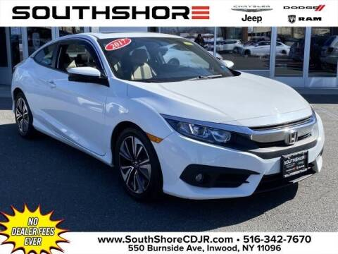 2017 Honda Civic for sale at South Shore Chrysler Dodge Jeep Ram in Inwood NY