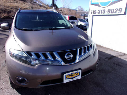 2009 Nissan Murano for sale at Circle Auto Center in Colorado Springs CO