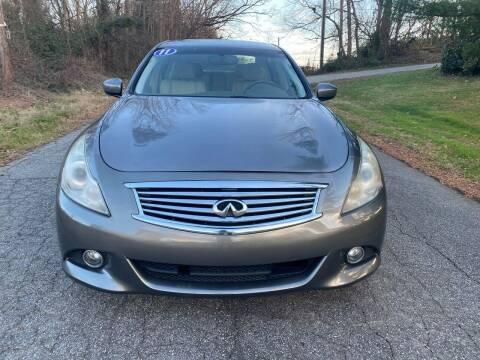2011 Infiniti G37 Sedan for sale at Speed Auto Mall in Greensboro NC