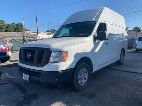 2012 Nissan NV Cargo for sale at Best Buy Quality Cars in Bellflower CA