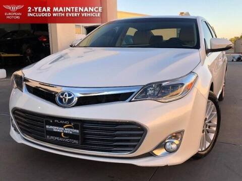 2014 Toyota Avalon Hybrid for sale at European Motors Inc in Plano TX