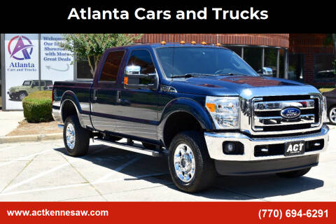 2015 Ford F-350 Super Duty for sale at Atlanta Cars and Trucks in Kennesaw GA