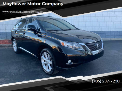 2011 Lexus RX 350 for sale at Mayflower Motor Company in Rome GA