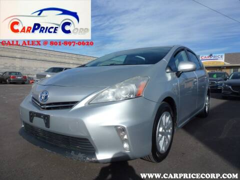2012 Toyota Prius v for sale at CarPrice Corp in Murray UT