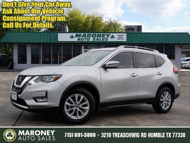 2018 Nissan Rogue for sale at Maroney Auto Sales in Humble TX