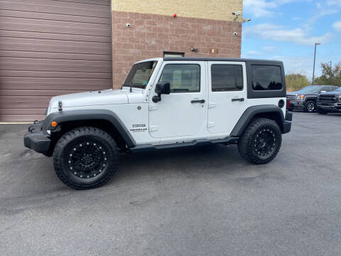 2015 Jeep Wrangler Unlimited for sale at CarNu  Sales in Warminster PA