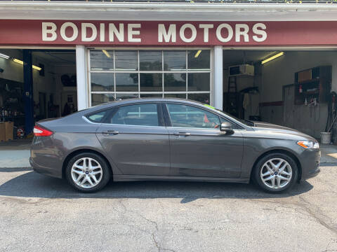2016 Ford Fusion for sale at BODINE MOTORS in Waverly NY