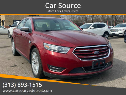 2019 Ford Taurus for sale at Car Source in Detroit MI