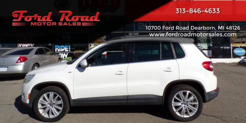 2010 Volkswagen Tiguan for sale at Ford Road Motor Sales in Dearborn MI