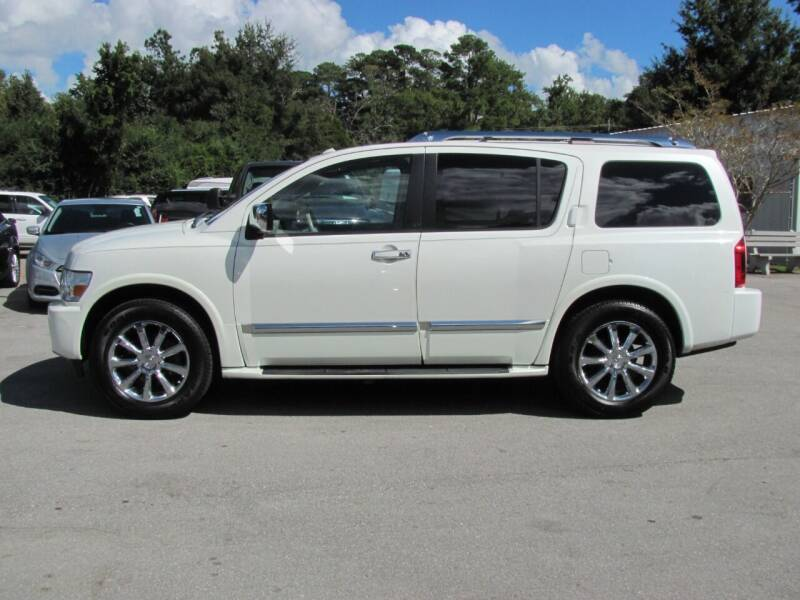 2010 Infiniti QX56 for sale at Pure 1 Auto in New Bern NC