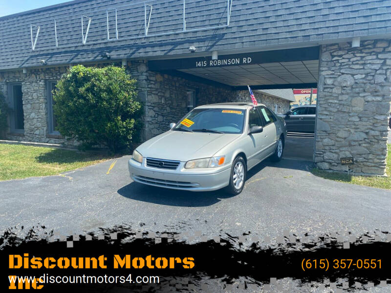 2000 Toyota Camry for sale at Discount Motors Inc in Old Hickory TN