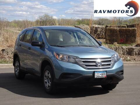 2014 Honda CR-V for sale at RAVMOTORS in Burnsville MN