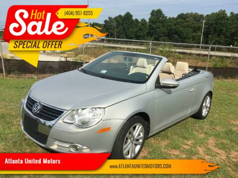 2009 Volkswagen Eos for sale at Atlanta United Motors in Buford GA