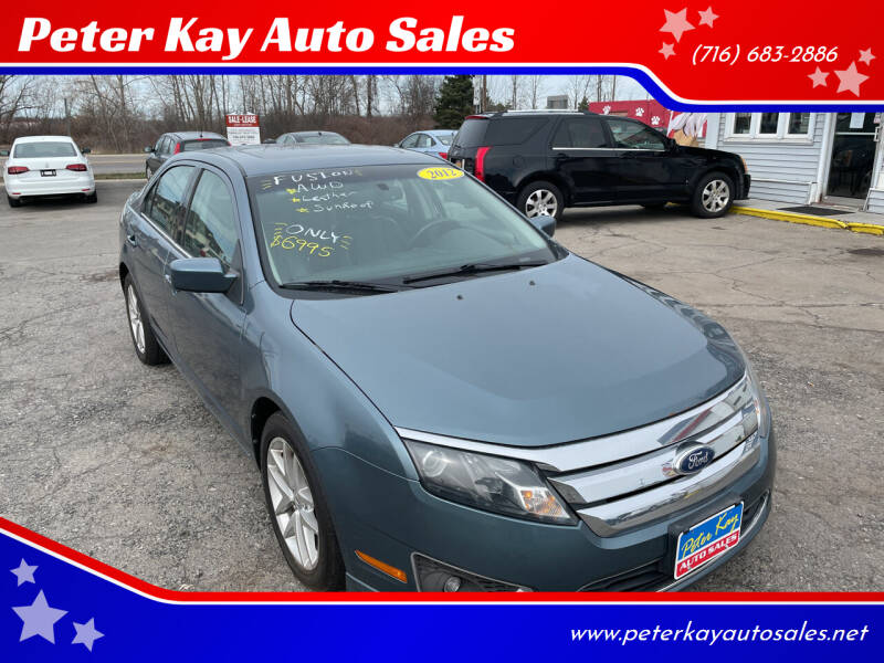 2012 Ford Fusion for sale at Peter Kay Auto Sales in Alden NY