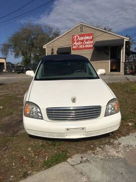 2001 Cadillac DeVille for sale at DAVINA AUTO SALES in Orlando FL