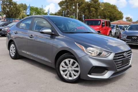 2019 Hyundai Accent for sale at OCEAN AUTO SALES in Miami FL