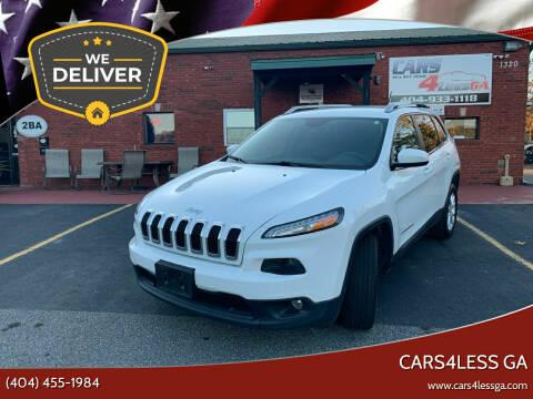2014 Jeep Cherokee for sale at Cars4Less GA in Alpharetta GA