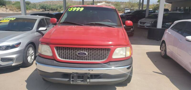 1999 Ford F-150 for sale at Carzz Motor Sports in Fountain Hills AZ