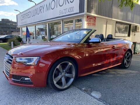 2014 Audi S5 for sale at Certified Luxury Motors in Great Neck NY