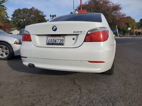 2008 BMW 5 Series for sale at McHenry Auto Sales in Modesto CA