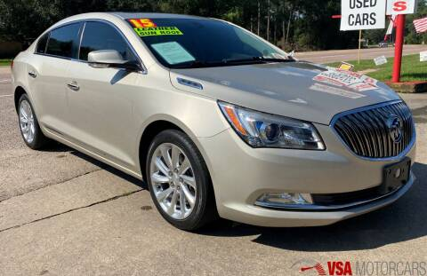 2015 Buick LaCrosse for sale at VSA MotorCars in Cypress TX