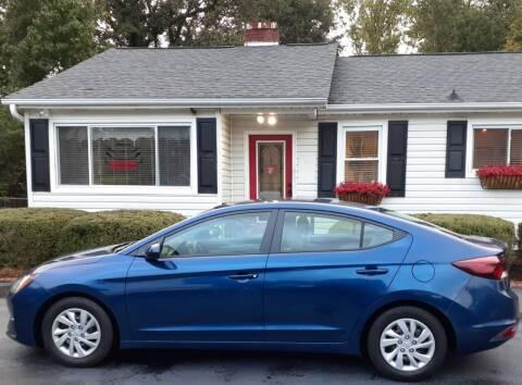 2019 Hyundai Elantra for sale at SIGNATURES AUTOMOTIVE GROUP LLC in Spartanburg SC