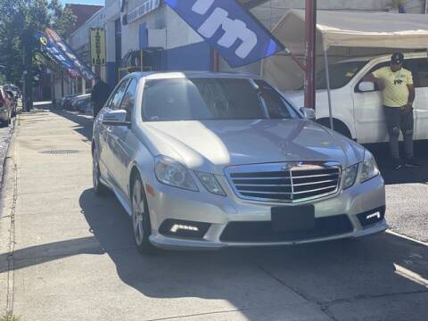 2011 Mercedes-Benz E-Class for sale at New 3 Way Auto Sales in Bronx NY