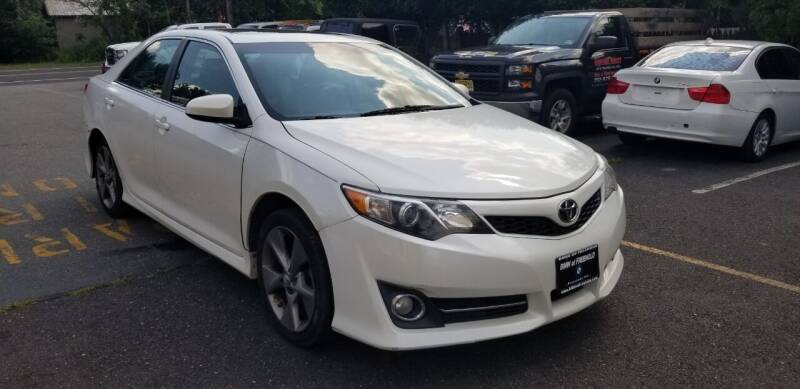 2012 Toyota Camry for sale at Central Jersey Auto Trading in Jackson NJ