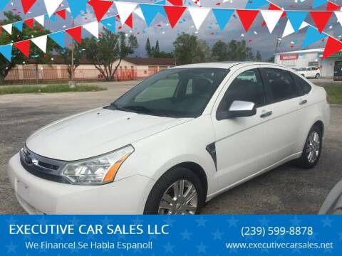 2009 Ford Focus for sale at EXECUTIVE CAR SALES LLC in North Fort Myers FL