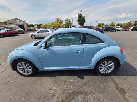 2014 Volkswagen Beetle for sale at Silverline Auto Boise in Meridian ID