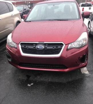 2013 Subaru Impreza for sale at GDT AUTOMOTIVE LLC in Hopewell NY
