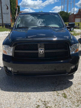 2012 RAM Ram Pickup 1500 for sale at J2 WHEELS UNLIMITED in Griggsville IL