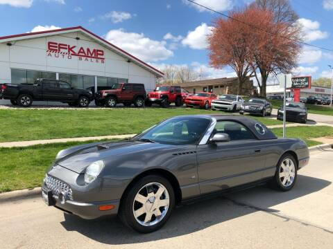 2003 Ford Thunderbird for sale at Efkamp Auto Sales LLC in Des Moines IA