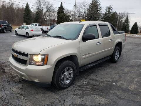 2007 Chevrolet Avalanche for sale at Motorsports Motors LLC in Youngstown OH