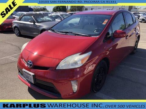 2013 Toyota Prius for sale at Karplus Warehouse in Pacoima CA