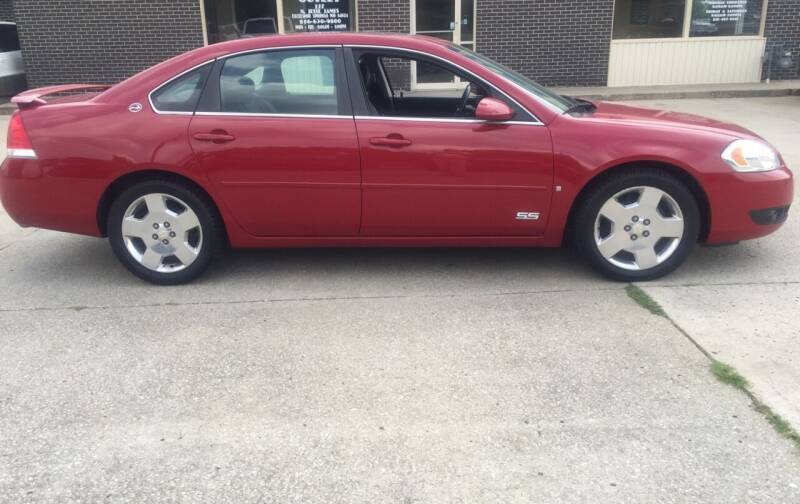 2008 Chevrolet Impala for sale at Truck and Auto Outlet in Excelsior Springs MO