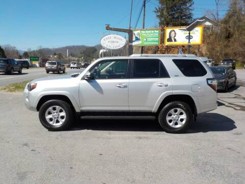 2016 Toyota 4Runner for sale at EAST MAIN AUTO SALES in Sylva NC