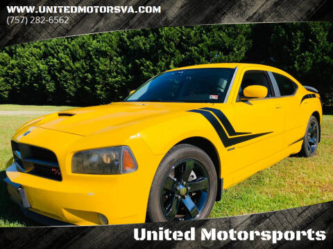 2006 Dodge Charger for sale at United Motorsports in Virginia Beach VA