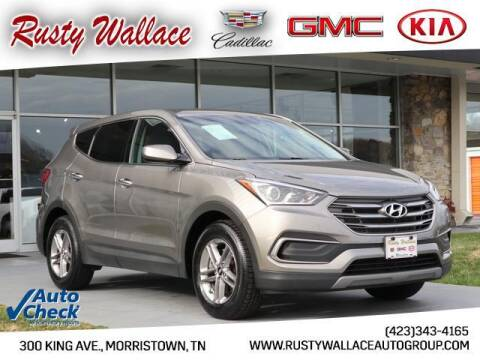 2018 Hyundai Santa Fe Sport for sale at RUSTY WALLACE CADILLAC GMC KIA in Morristown TN