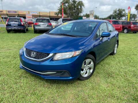 2014 Honda Civic for sale at Unique Motor Sport Sales in Kissimmee FL