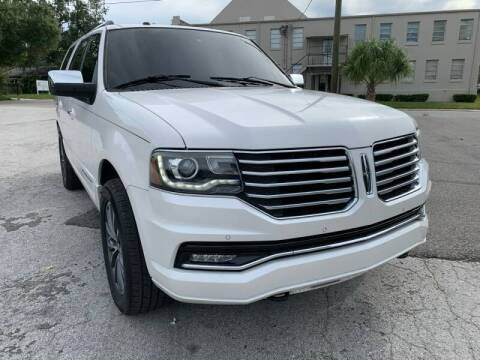 2016 Lincoln Navigator for sale at LUXURY AUTO MALL in Tampa FL