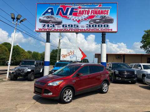 2015 Ford Escape for sale at ANF AUTO FINANCE in Houston TX