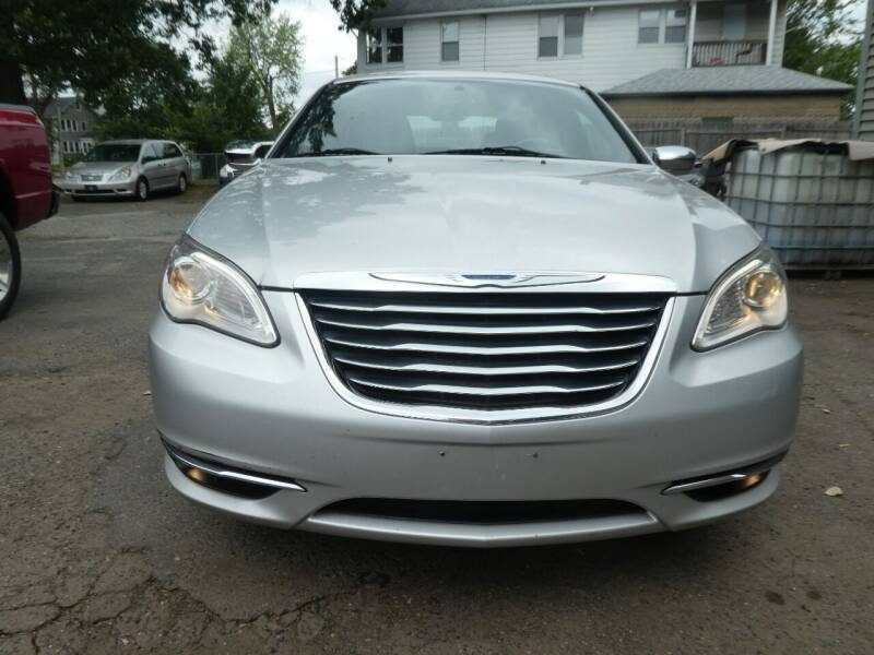 2012 Chrysler 200 for sale at Wheels and Deals in Springfield MA