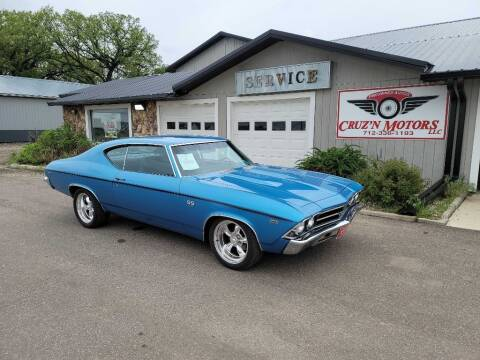 1969 Chevrolet Chevelle for sale at CRUZ'N MOTORS - Classics in Spirit Lake IA