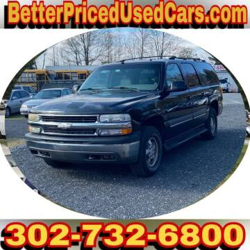 2002 Chevrolet Suburban for sale at Better Priced Used Cars in Frankford DE